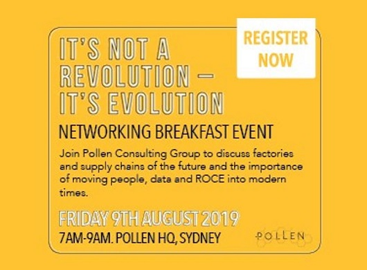 It's not a revolution – its evolution (networking breakfast event)